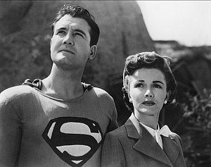 ... e a do Superman em 1951 já mostravam qual era o caminho.