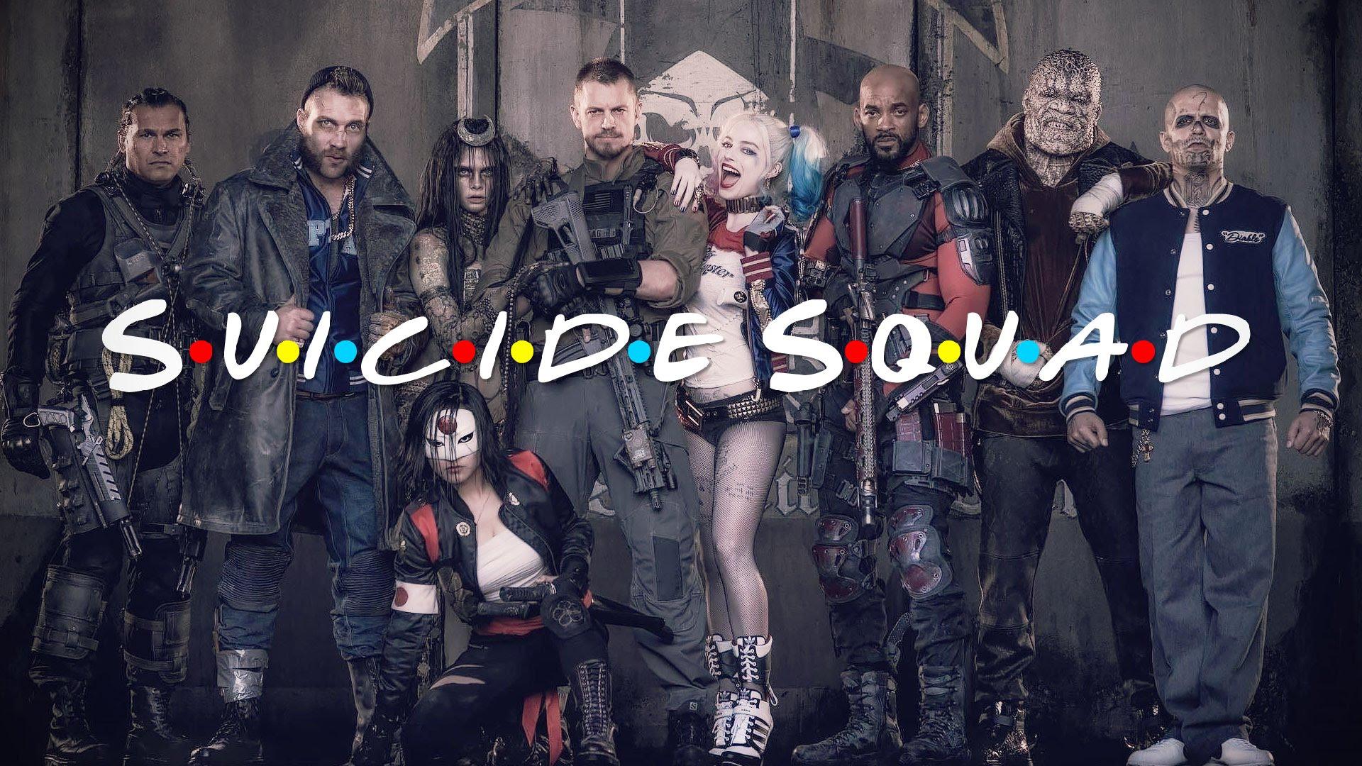 suicide squad friends
