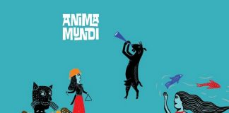 Cartaz modificado do Festival Anima Mundi 2017.