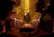 Uma imagem de Sundered, jogo da Thunder Lotus Games, jogo metroidvania inspirado em Lovecraft