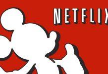 Logos da Disney e Netflix
