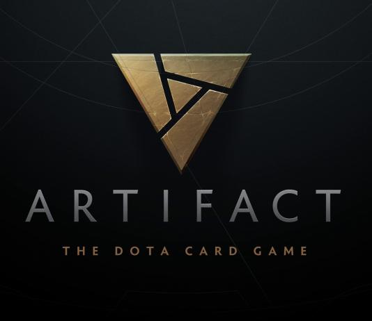 Logo de Artifact, jogo de cartas de Dota 2 desenvolvido pela Valve