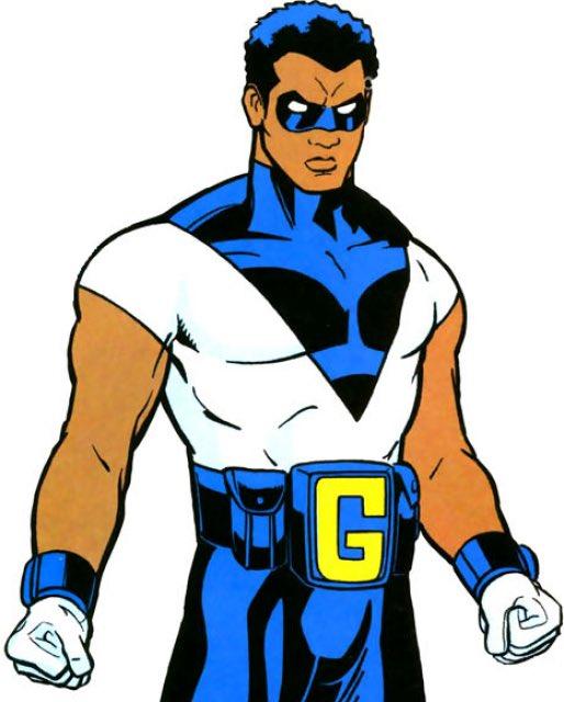 Imagem do Golias Negro, também conhecido como Black Goliath, personagem da Marvel que irá aparecer em 'Homem-Formiga e a Vespa'.
