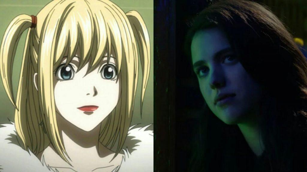Mia ocupa lugar da personagem Misa na adaptação de Death Note pela Netflix