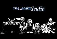 Imagem do jogo indie Undertale, que mostra Asgore, Undyne, Toriel, Sans, Alphys e Papyrus.