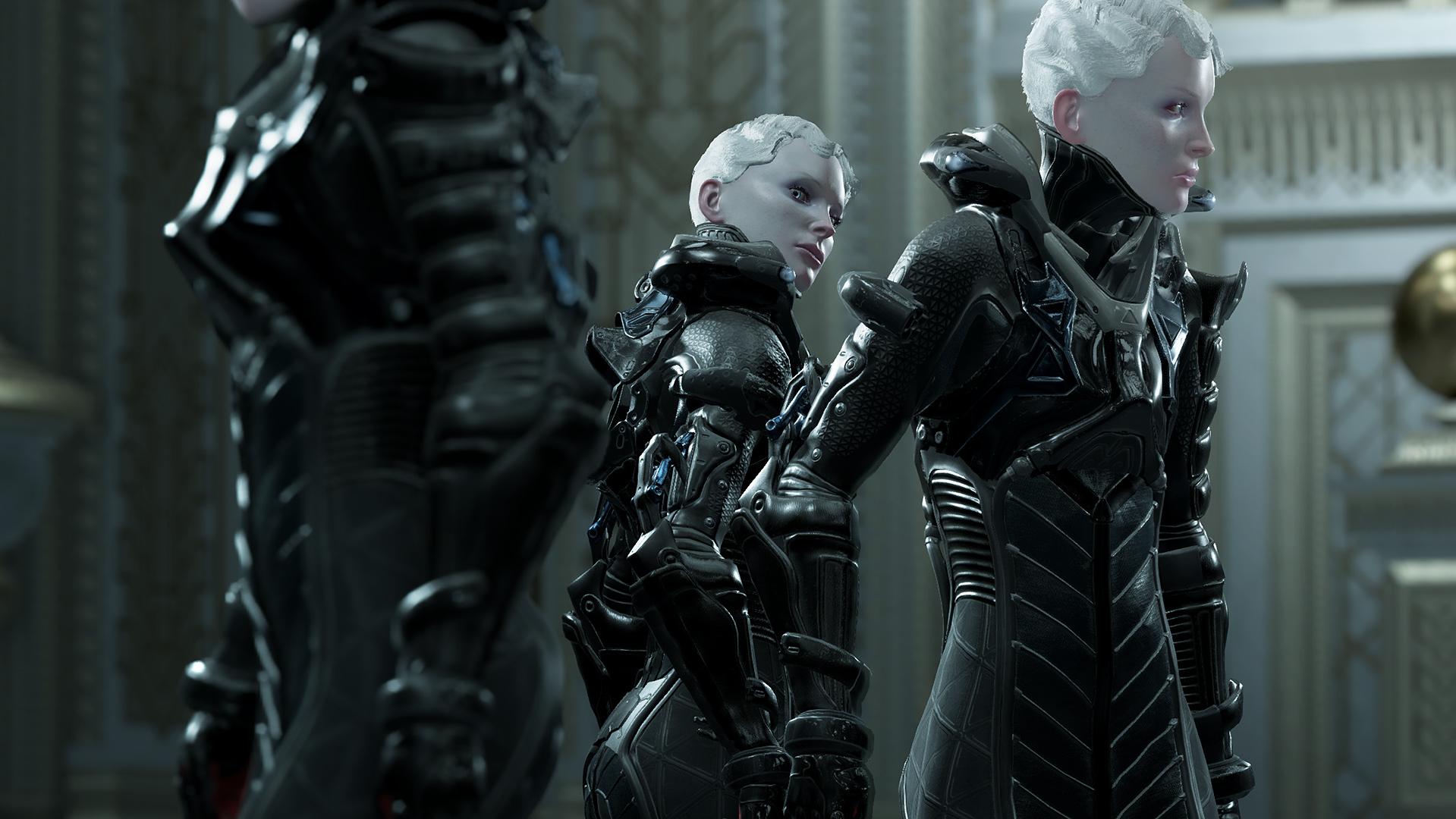 Imagem de Echo, jogo indie de ação e ficção científica da Ultra Ultra.