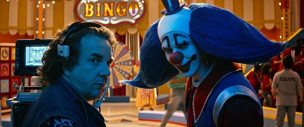 Vasconcelos e Bingo, no filme Bingo - O Rei das Manhãs, inspirado no palhaço Bozo da década de 80.