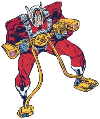 Órion, integrante dos Novos Deuses da DC. Filho mais novo de Darkseid, foi criado desde criança pelo pai celestial como parte de um tratado de paz. Em Nova Gênese, Órion aprendeu a controlar sua raiva e se tornou o melhor guerreiro dos Novos Deuses.