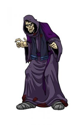 Desaad, integrante dos Novos Deuses da DC. é o mestre-torturador e o maior cientista de Apokolips. seu nome é inspirado no Marquês de Sade.