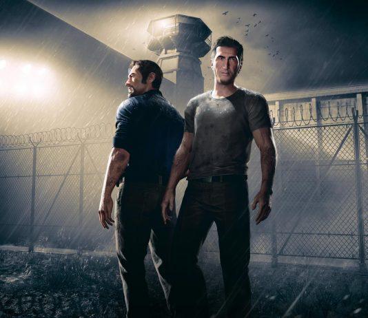 Imagem de divulgação do jogo A Way Out, da Hazelight, que mostra dois presidiários no meio de um pátio de prisão. Um dos Jogos Indie 2018 mais aguardados.