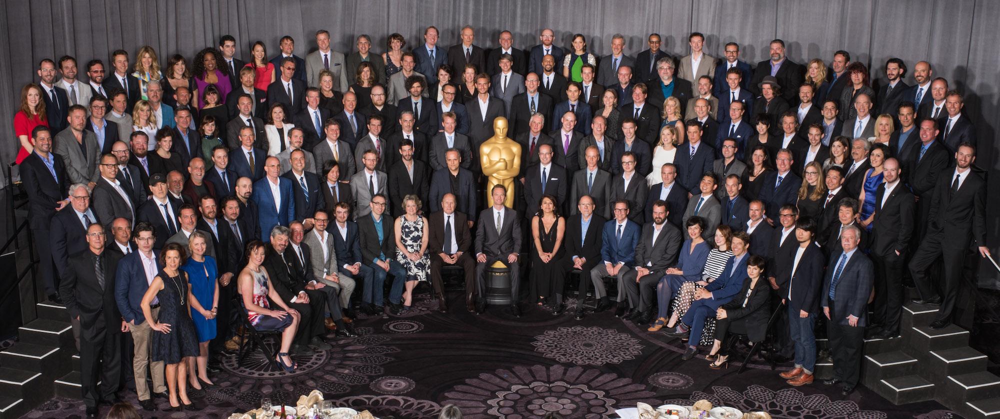 Imagem para Cinema 2018 mostra todos os indicados ao Oscar 2015 - são cerca de 150 pessoas, apenas três negras